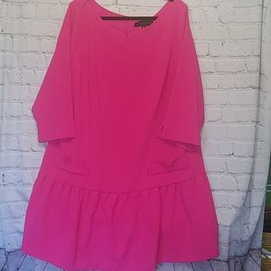 Victoria Beckham for Target pink dress size 2x